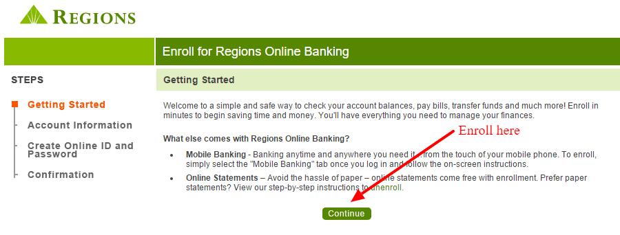 Regionsbank Personal Banking