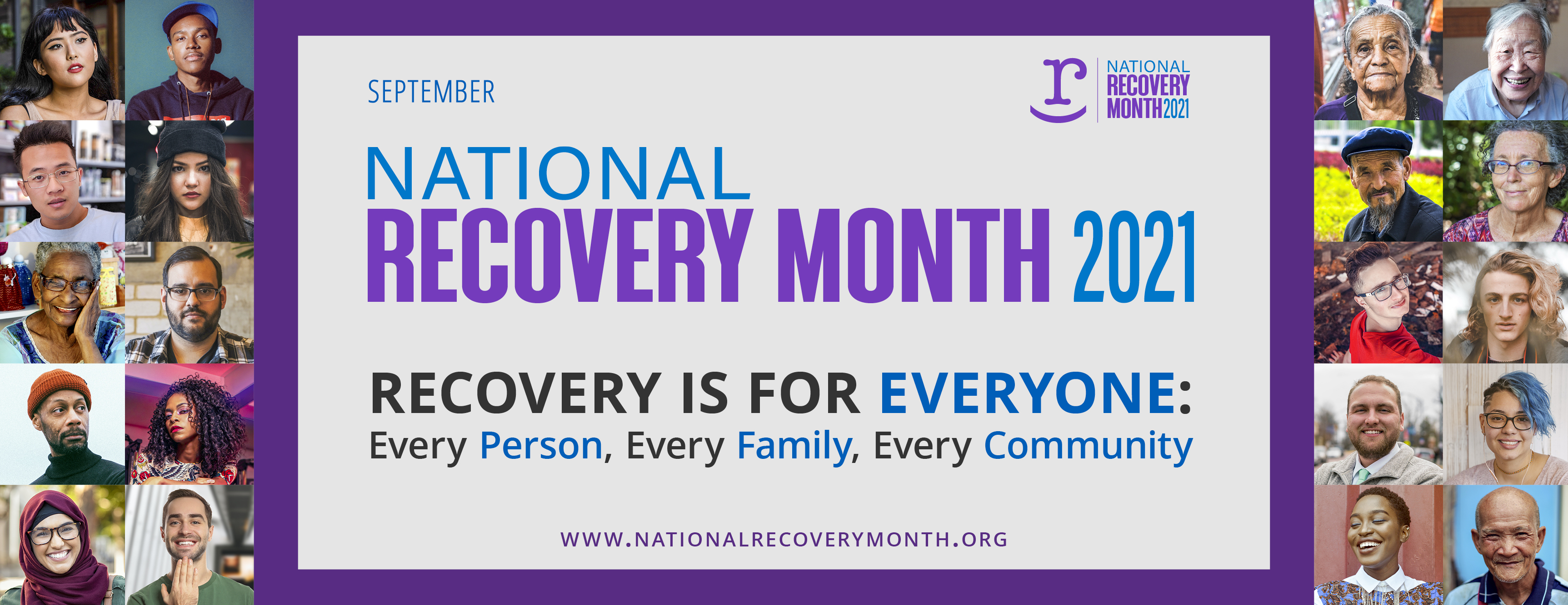september is recovery month banner