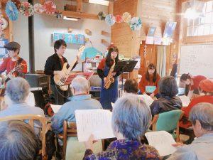 【チャレンジファンド】3月9日 ゴジカラ村にて演奏♪