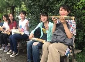 【CF採択プロジェクト】竹のプランターで花を咲かせよう!