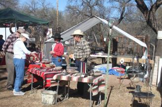 vendors with wrought iron