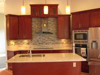 Burgundy Cherry – C&C Cabinets and Granite