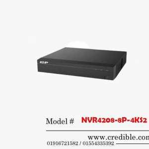Dahua NVR NVR4208-8P-4KS2