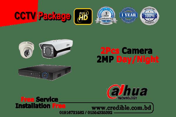 Dahua CC Camera Package 2Pcs