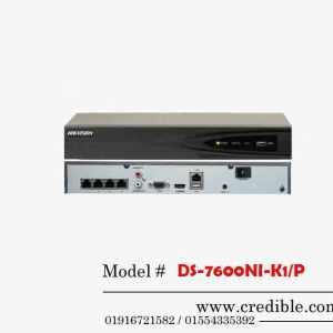 Hikvision NVR DS-7600NI-K1P