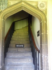 A very old staircase