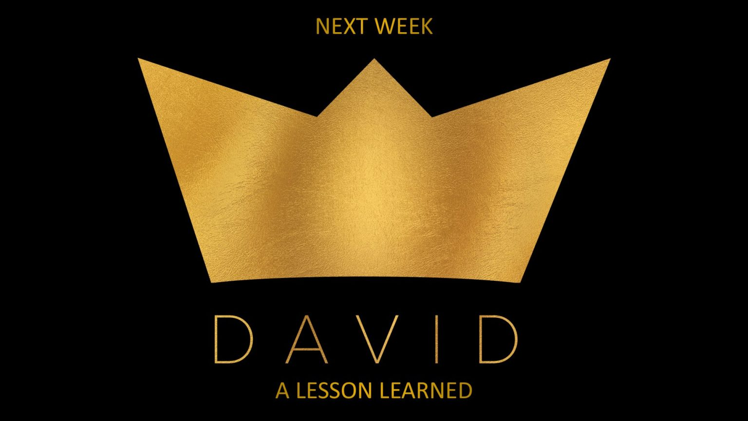 Wk 6 - A lesson learned