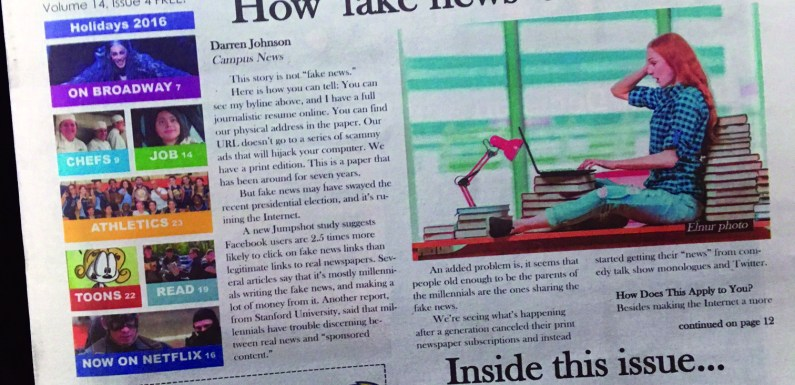 Campus News print edition continues to grow