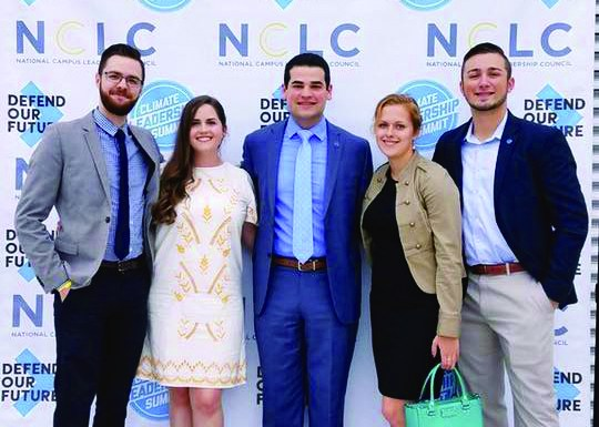 SUNY student leadership heads to DC