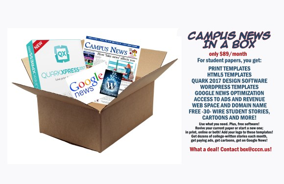 Campus News introduces 'newspaper in a box'