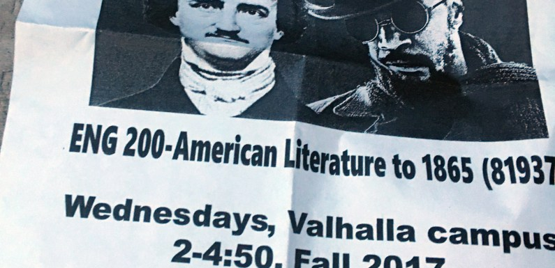 Westchester instructor hopes to 'make American lit great again'