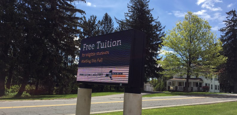 "Excelsior Scholarship: Community colleges say ""free is good"""