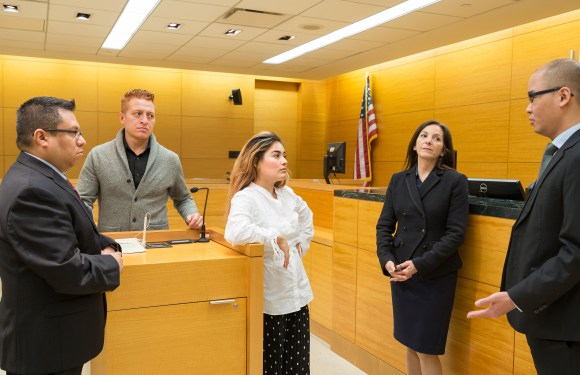 Multilingual CUNY students interpret for the courts