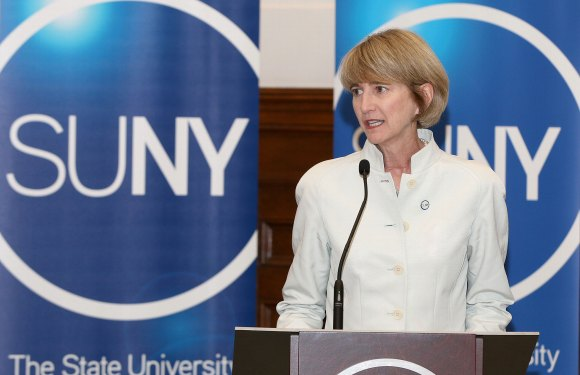 New SUNY chancellor outlines vision