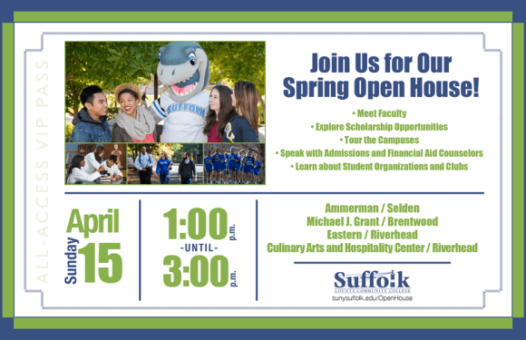 Open House at SUNY Suffolk