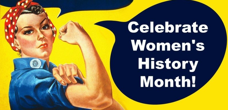 It's Women's History Month on campus!