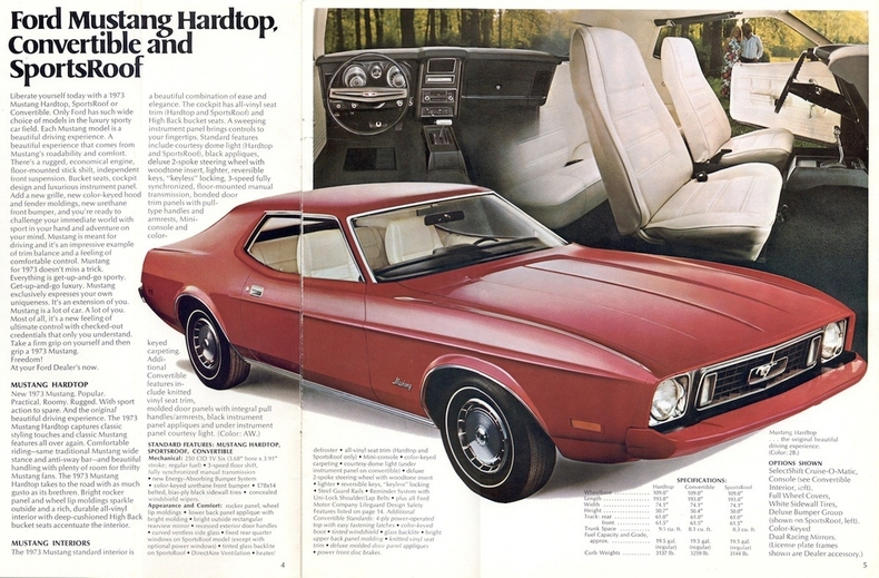 Mustang Grande Black 1973