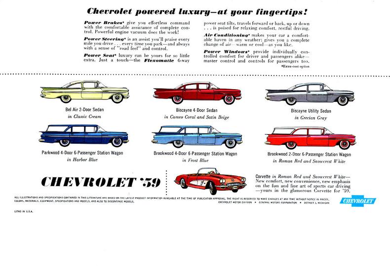 1956 Harbor Blue Chevrolet