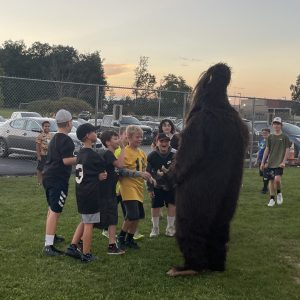 CCCTC's Bigfoot Attends Moshannon Valley VS. West Branch Football Game