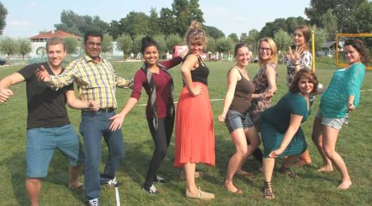 The members of Bangladesh Group of 'Peace of Mind- POM 2013' summer course in the Netherlands