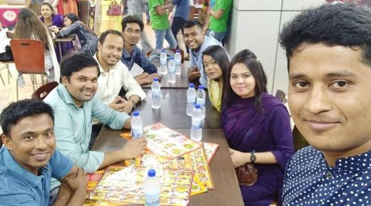 Youth Leaders of CCD Bangladesh have sited together in an Iftar
