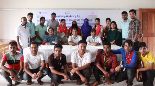 Sensitizing Workshop for Increasing INSPIRE Technical Package has been arranged at Radio Sundarban 98.8 FM