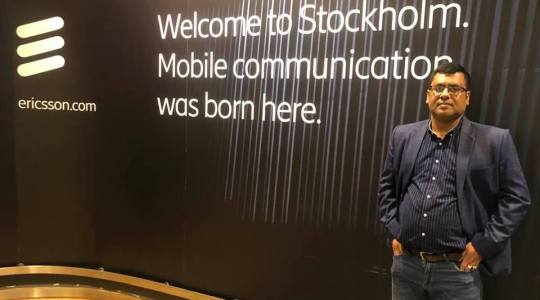 Director of CCD Bangladesh G M Mourtoza has visited to Stockholm, Sweden