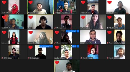 """CCD Bangladesh has recently arranged the 2nd """"Virtual Active Citizens Youth Leadership Training"""""""