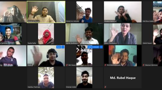 """CCD Bangladesh has recently arranged the 4th """"Virtual Active Citizens Youth Leadership Training"""""""