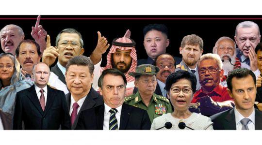 "RSF's 2021 ""Press Freedom Predators"""