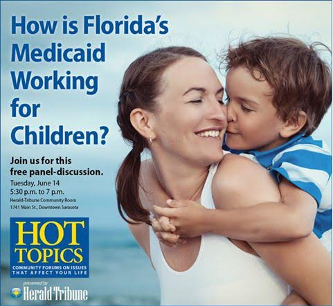 I'm here in Sarasota, Florida today to release our new study looking at the  quality of care for the approximately two million kids receiving health  care ...