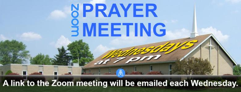 Zoom Wednesday Prayer Meeting