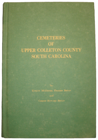 Colleton Cemetaries Book