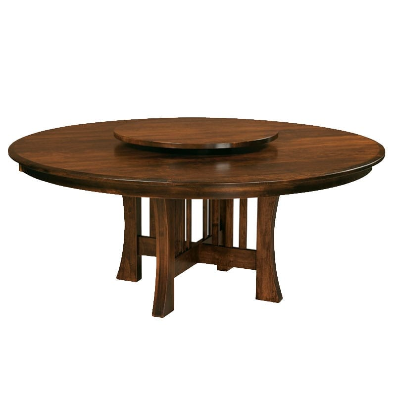 Arts & Crafts Table with Lazy Susan