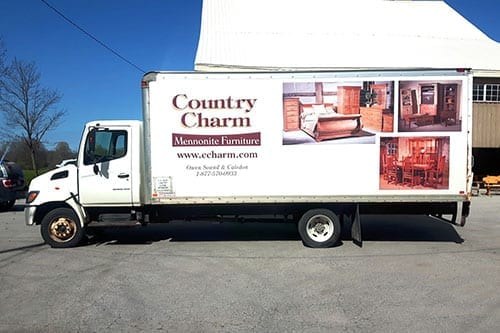 Country Charm Delivery Truck
