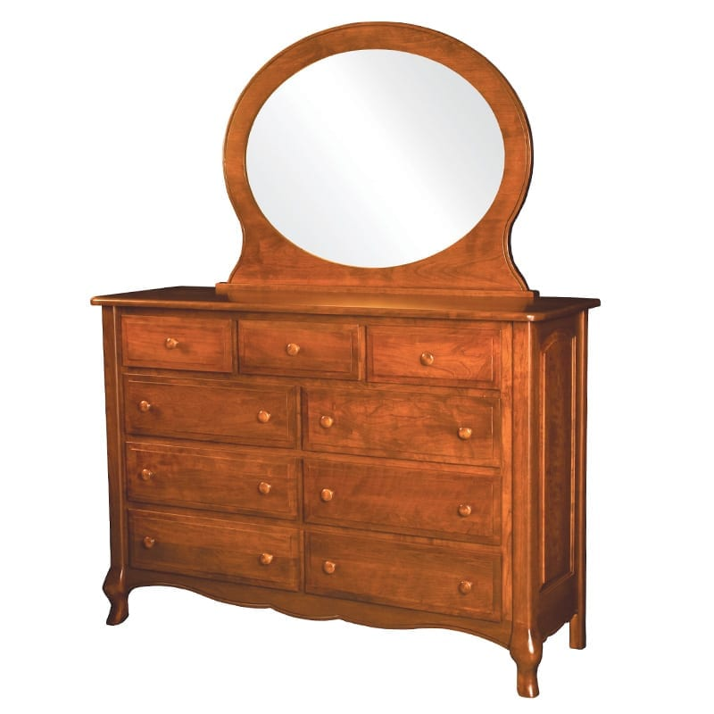 French Country 9-Drawer Dresser