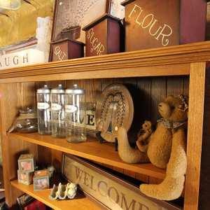 Bookshelf and Decorations