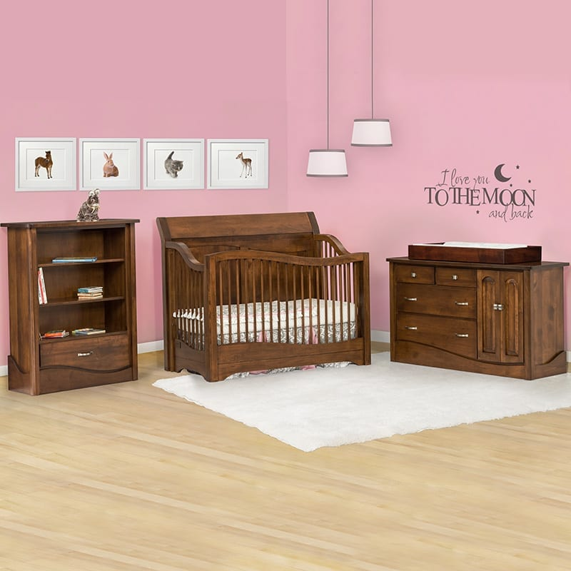 Tanessah conversion crib set