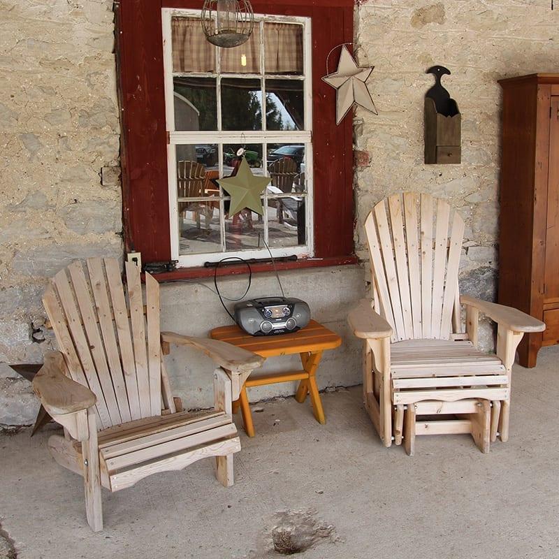Muskoka Chair and Muskoka Glider