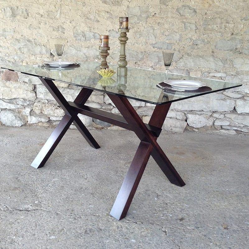 Muskoka Table with Glass Top