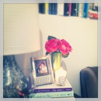 Updated bedside table