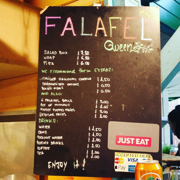 Urban Food Fest What to eat 7 Falafel queen