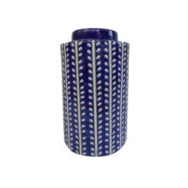 Chinoiserie Ceramic Ginger Jar