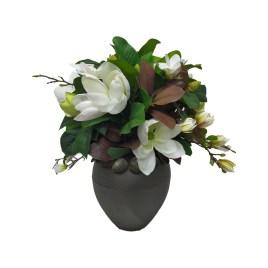 Magnolia With Metal Planter M