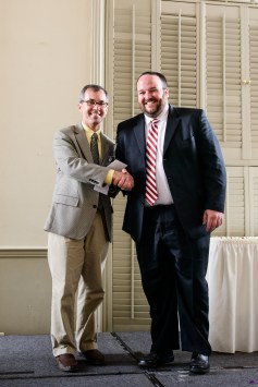 Justin Vines, MD, received the Finney/Akers Memorial Award in Obstetrics and Gynecology.