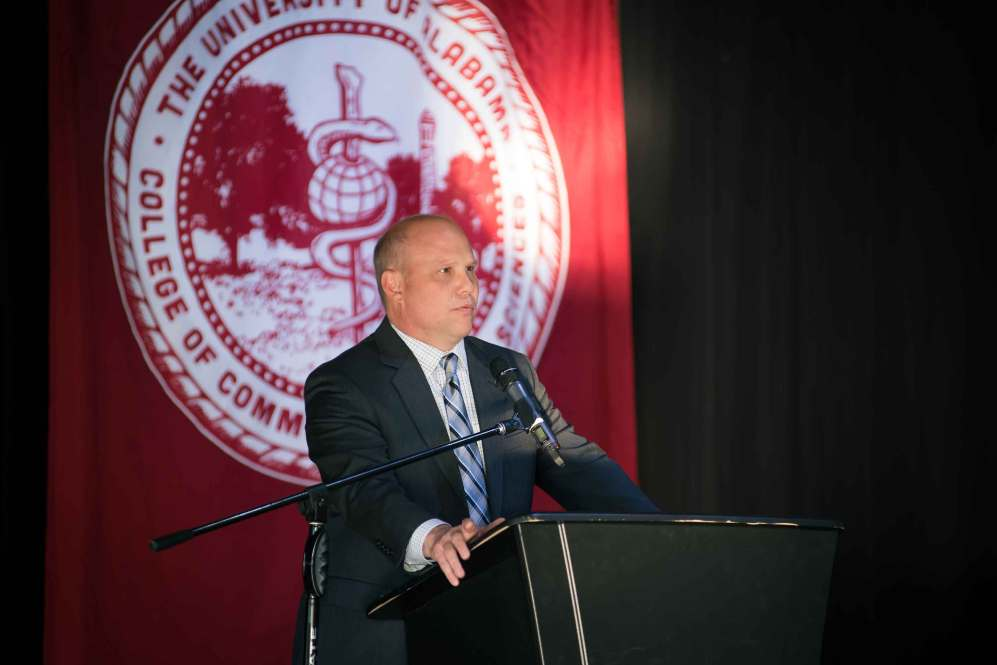 Dr. Craig Hoesley, senior associate dean for medical education, University of Alabama School of Medicine