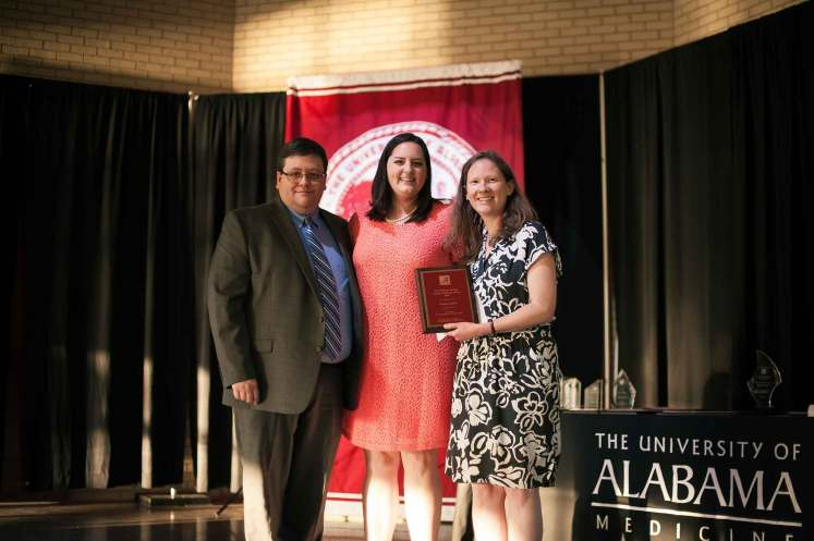 Elizabeth Ann Junkin was named the recipient of the William Owings Award in Family Medicine.