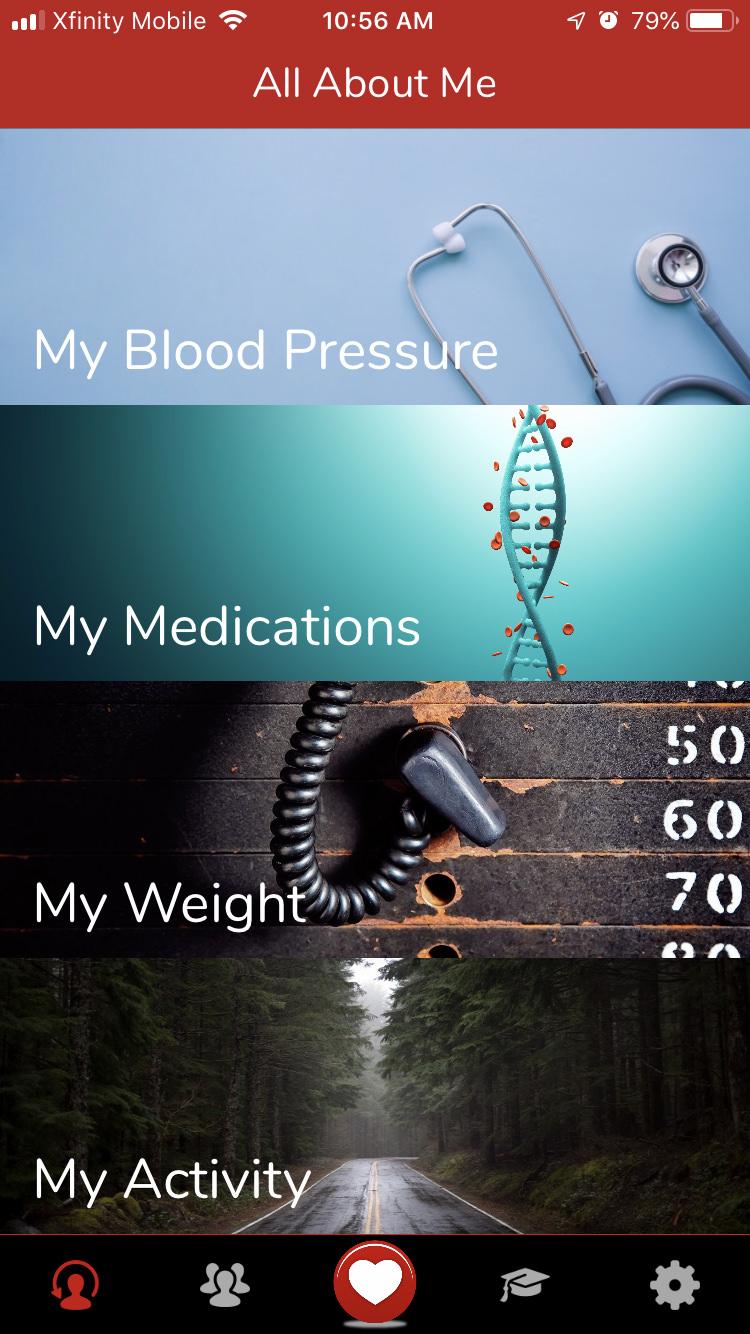 Hype Hypertension App Screenshot