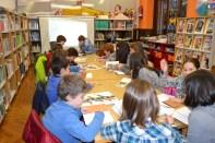 aCCión de campo na Biblioteca Municipal Infantil e Xuvenil