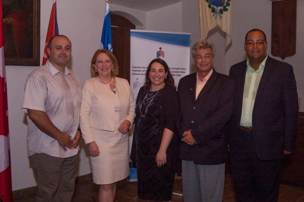 2016-09-14 Cocktail Mission Québec-Cuba 2016